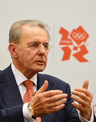 International Olympic Committee (IOC) president Jacques Rogge. AFP Photo