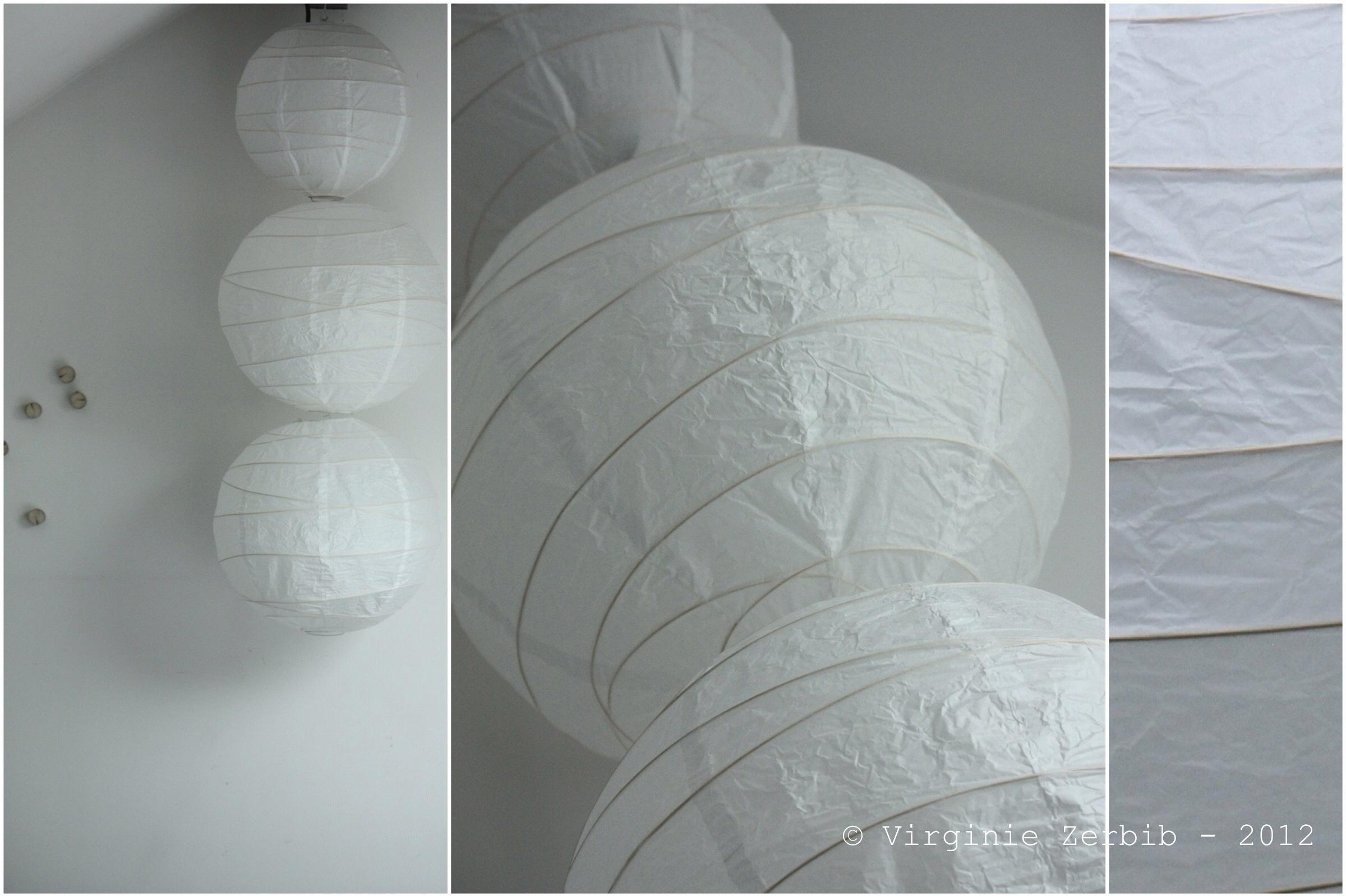 Boule japonaise - Lampe boule japonaise ...