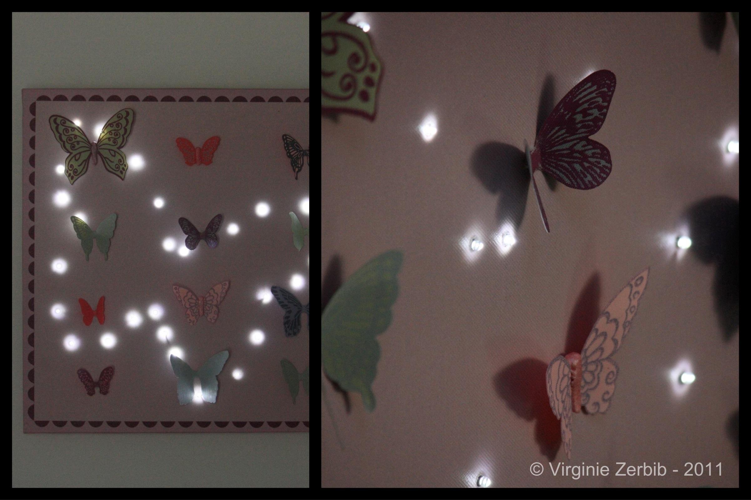 Sp ciale chambres d enfants pisode 5 la toile lumineuse for Decoration murale fait main
