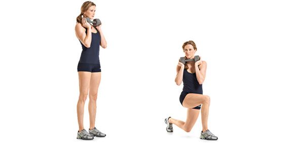 Rotation-Lunges