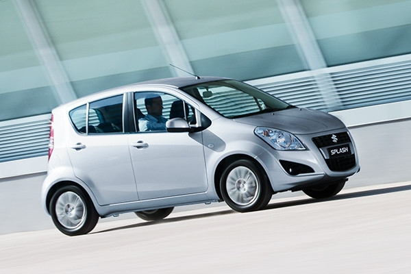 Suzuki New Splash