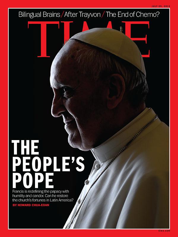 Papa: cornuto per il Times 20130729_600