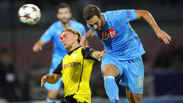 Video: Napoli vs Borussia Dortmund