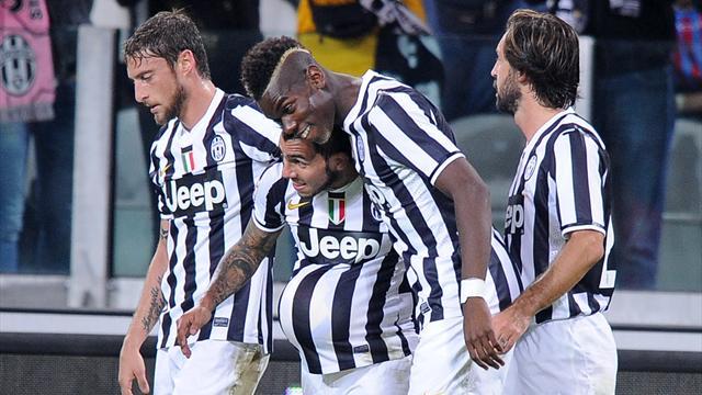 Serie A - Juventus sul velluto: secco poker al Catania