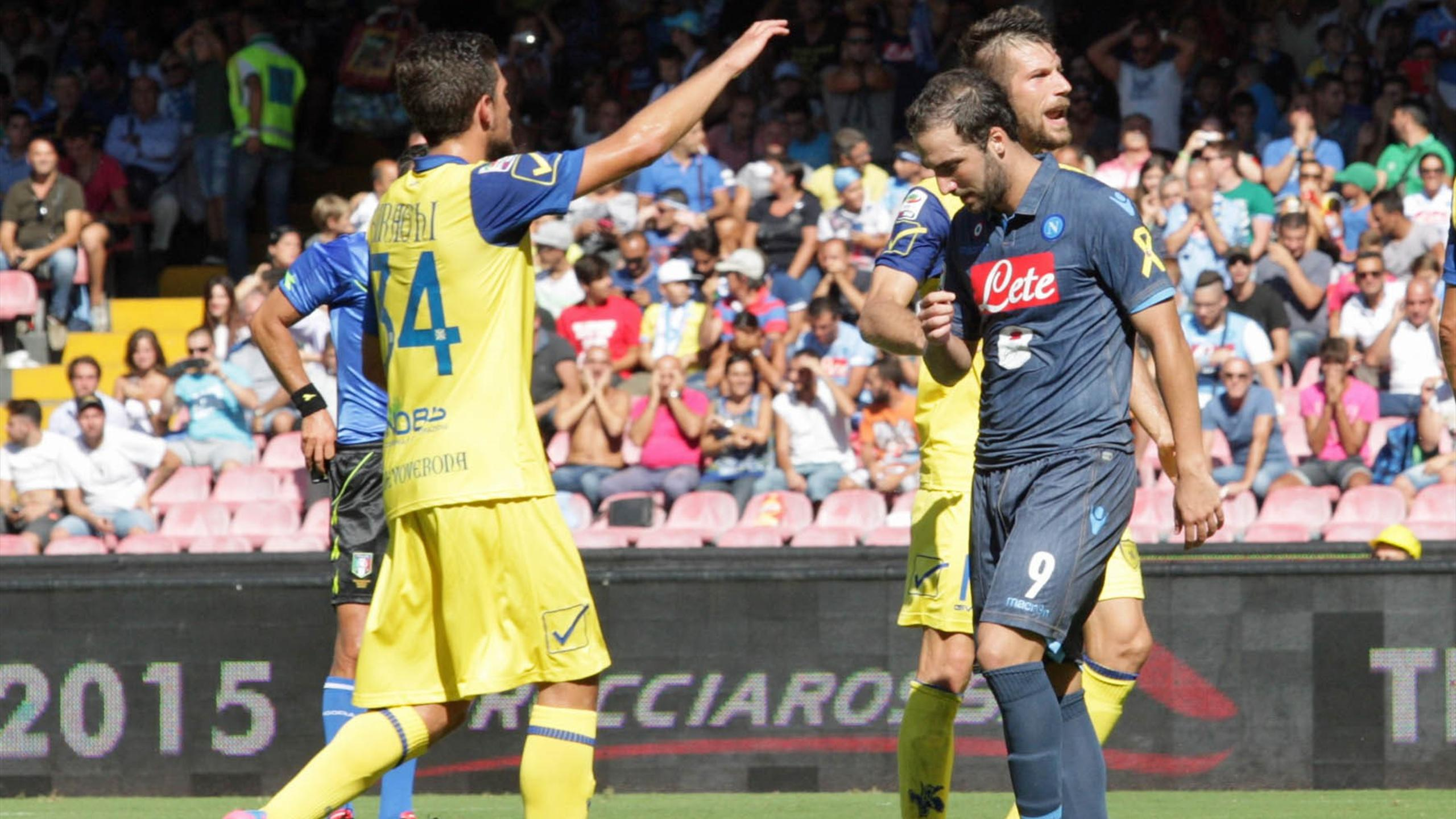 Video: Napoli vs Chievo