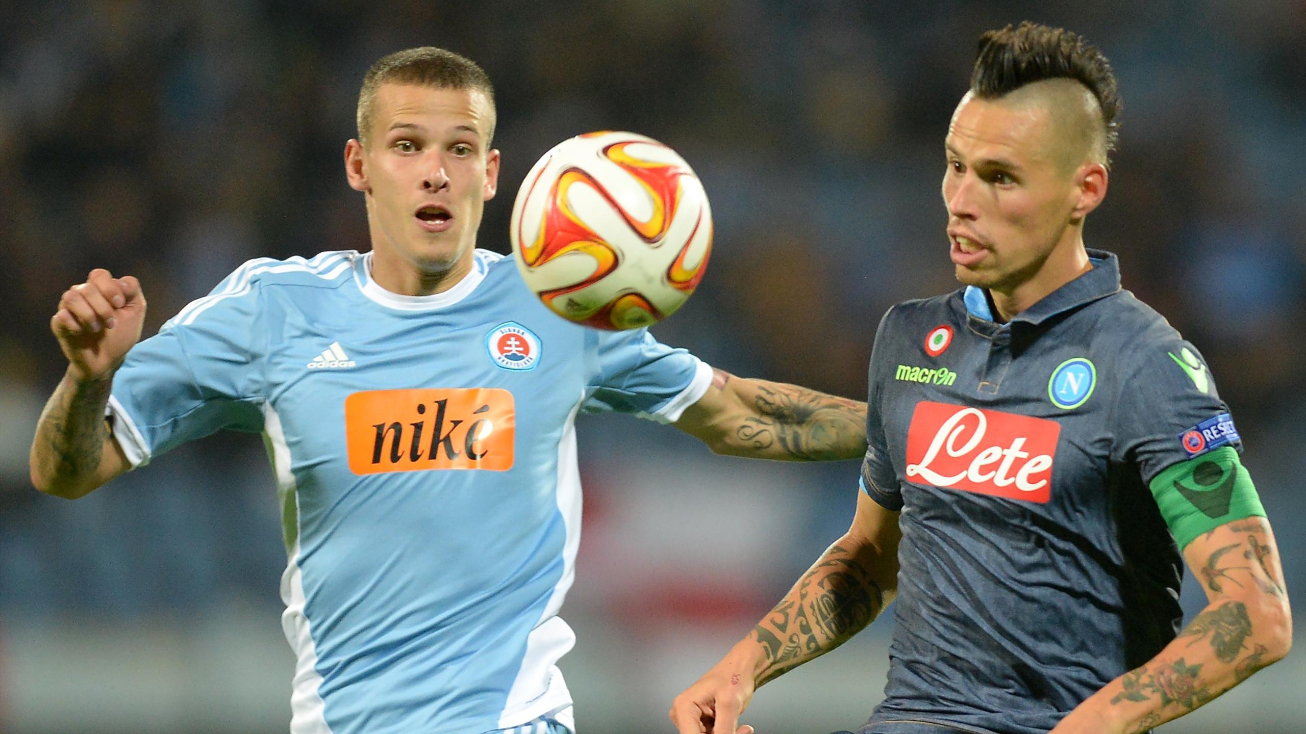 Video: Slovan Bratislava vs Napoli