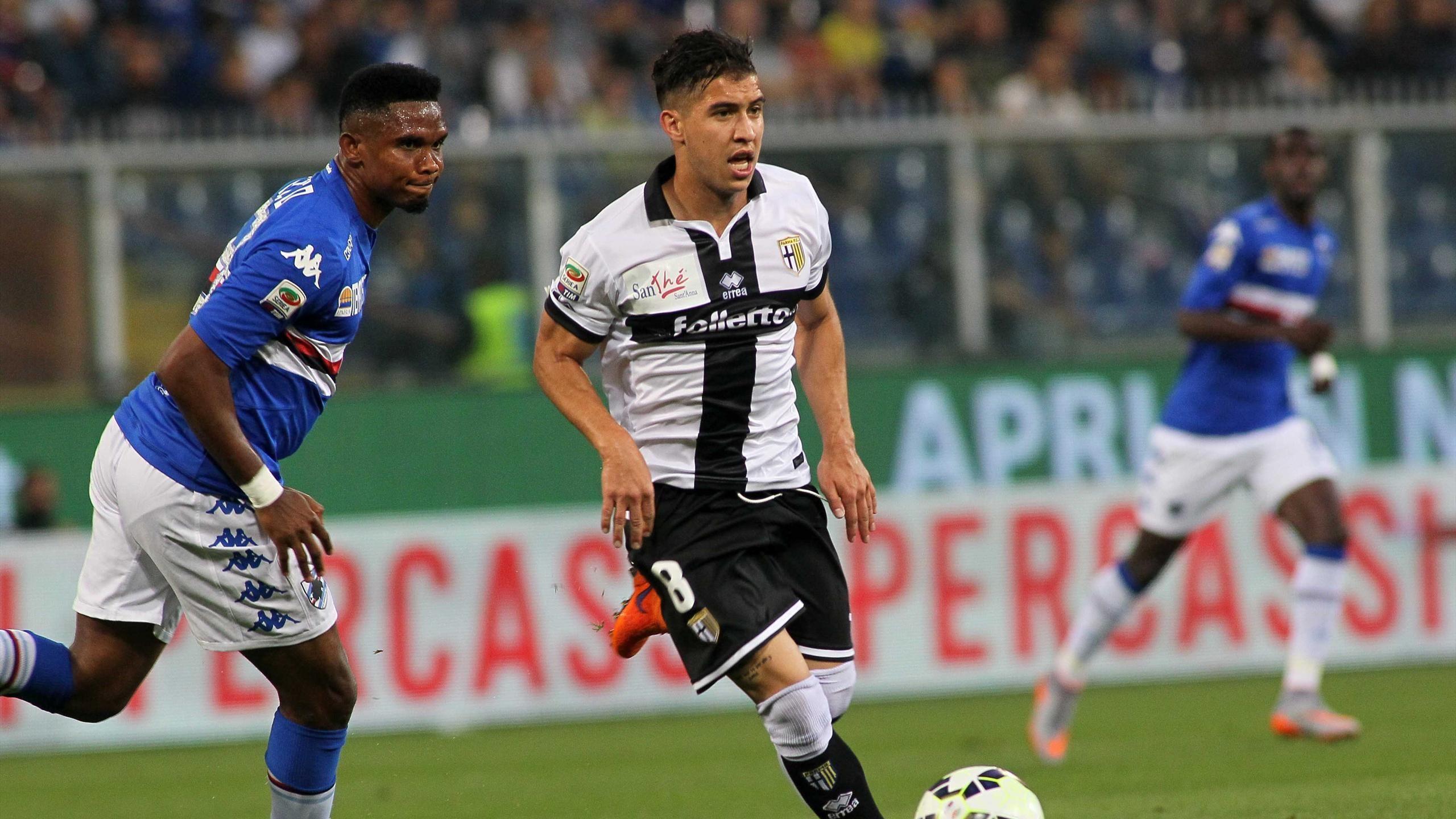 Sampdoria 2 – 2 Parma(Serie A 2014/2015 – Vòng 38)