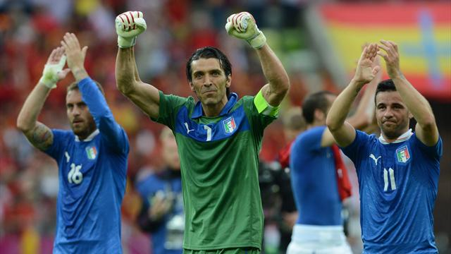 Orgoglio Italia: con la Spagna  1-1