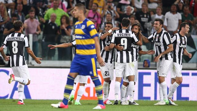 Serie A - La Juve ricomincia vincendo: Parma ko 2-0