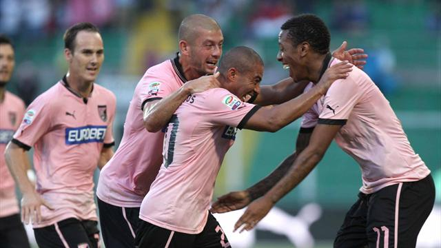Palermo-Cagliari 1-1, a Rios risponde Sau