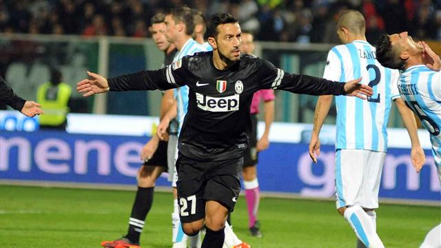 Serie A - Quagliarella show, goleada Juventus