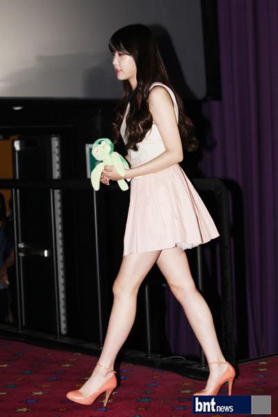 bnt photo iu has a attractive legs   yahoo