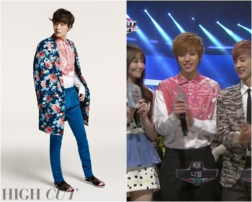 star vs star] Park Hae jin vs Teen Top Niel, who looks better in