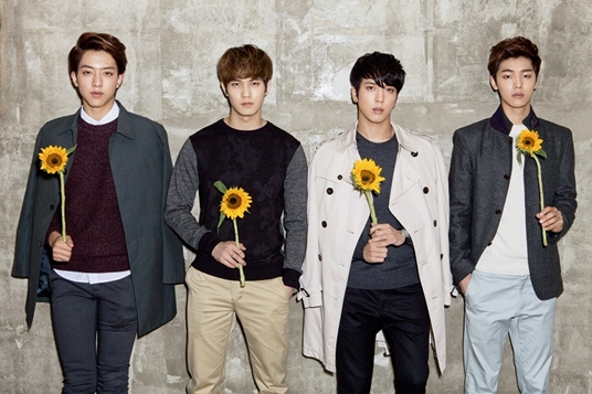 CNBLUE going to released Best Japan Album PRESENT