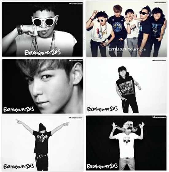 Big Bang Members Shares their 'Extraordinary 20s' with Fans ...: sg.entertainment.yahoo.com/news/big-bang-members-shares-their...