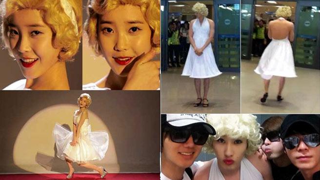 Who wore it better: super juniors eunhyuk or iu?