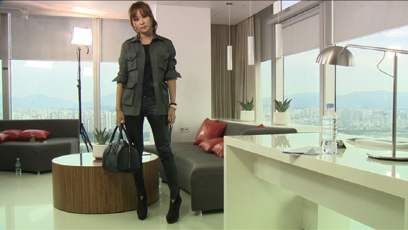 高小英  時尚單品 來自「張東健的衣櫃」?「很喜歡穿丈夫的衣服」