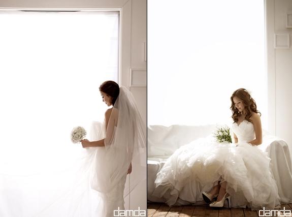 李智賢 婚紗畫報公開,「3月新娘」好耀眼