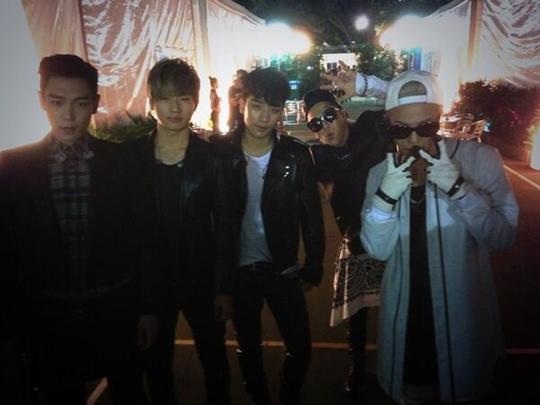 BigBang 完整體,5名成員的領袖魅力「好帥」