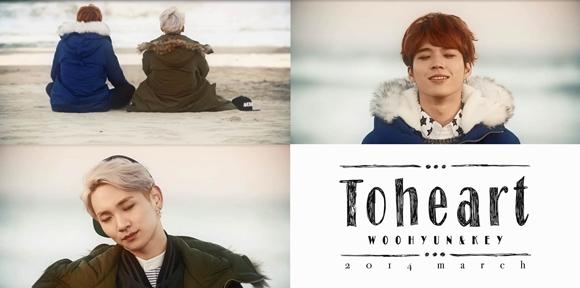 Toheart,第二次預告公開「來到冬季大海旅遊的優鉉-Key」