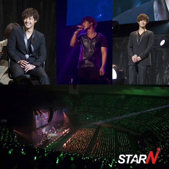 Kim Hyun Joong successfully finishes a fan club event in Japan