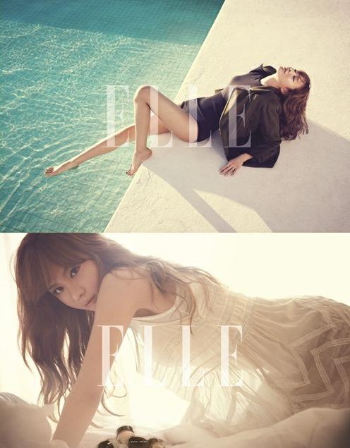 21】【明星】金雅中《elle》杂志 墨西哥拍摄时尚性感写真 展熟女魅力图片