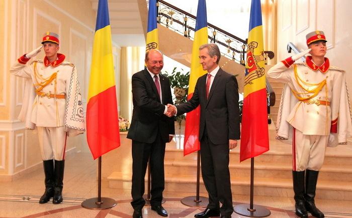 Iurie Leancă şi Traian Băsescu erau cândva prieteni