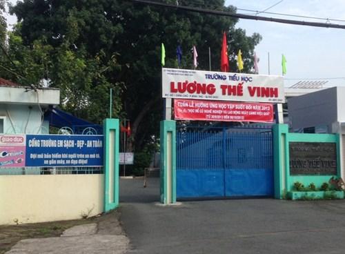 Trường tiểu học Lương Thế Vinh, quận Thủ Đức-TPHCM