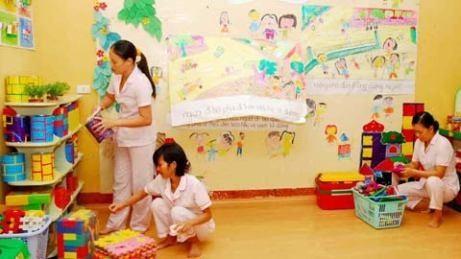 Nhiều cô giáo ở các trường tư thục không hề có bằng cấp sư phạm (Ảnh minh họa).