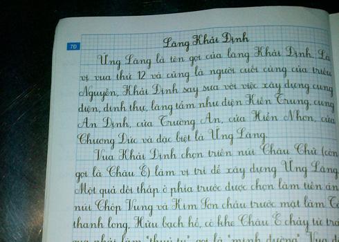 vở luyện chữ đẹp sai kiến thức
