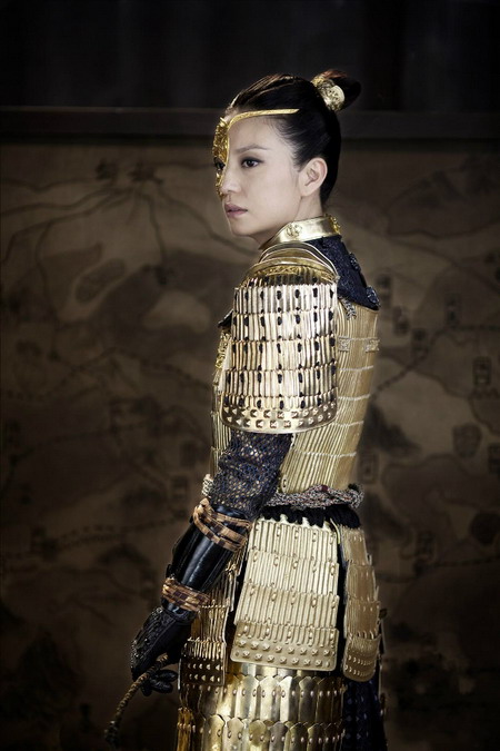 Khi mặc bộ áo giáp này, Tĩnh công chúa khiến nhiều khán giả nhớ đến Hoa Mộc Lan - một vai diễn cũng rất nổi tiếng của Triệu Vy vào năm 2010.