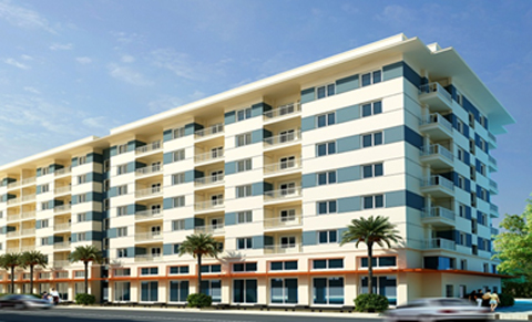 Phối cảnh căn hộ giá 300-700 triệu đồng.