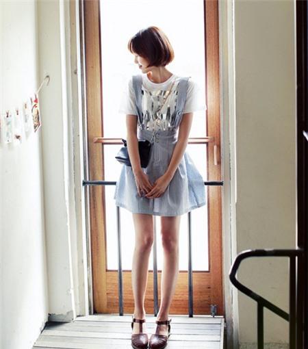 Chọn chân váy ăn ý với phong cách, Thời trang, Chan vay, chan vay ren, chan vay xoe ngan, chan vay maxi, chan vay bo, chan vay but chi, chan vay anh kim,  chan vay denim, ao pull mua he, ao so mi,