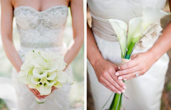 Với những cô dâu cao, bó hoa nên để cuống dài, ngược lại, với những cô dâu có thân hình nhỏ, bó hoa rum nên được cắt ngắn, tạo sự cân xứng với cơ thể.