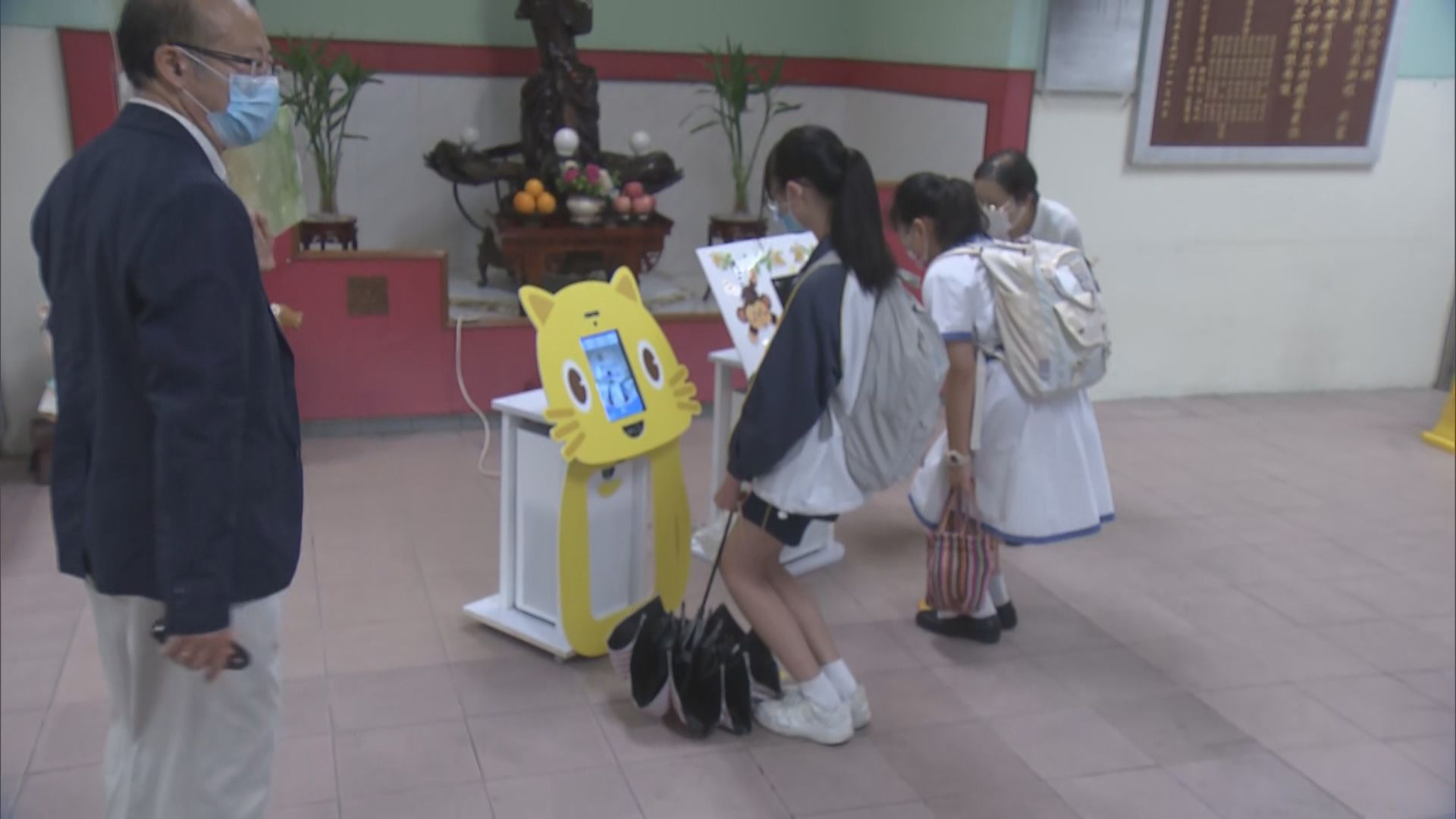 小四至中二復課 學校添置防疫裝置