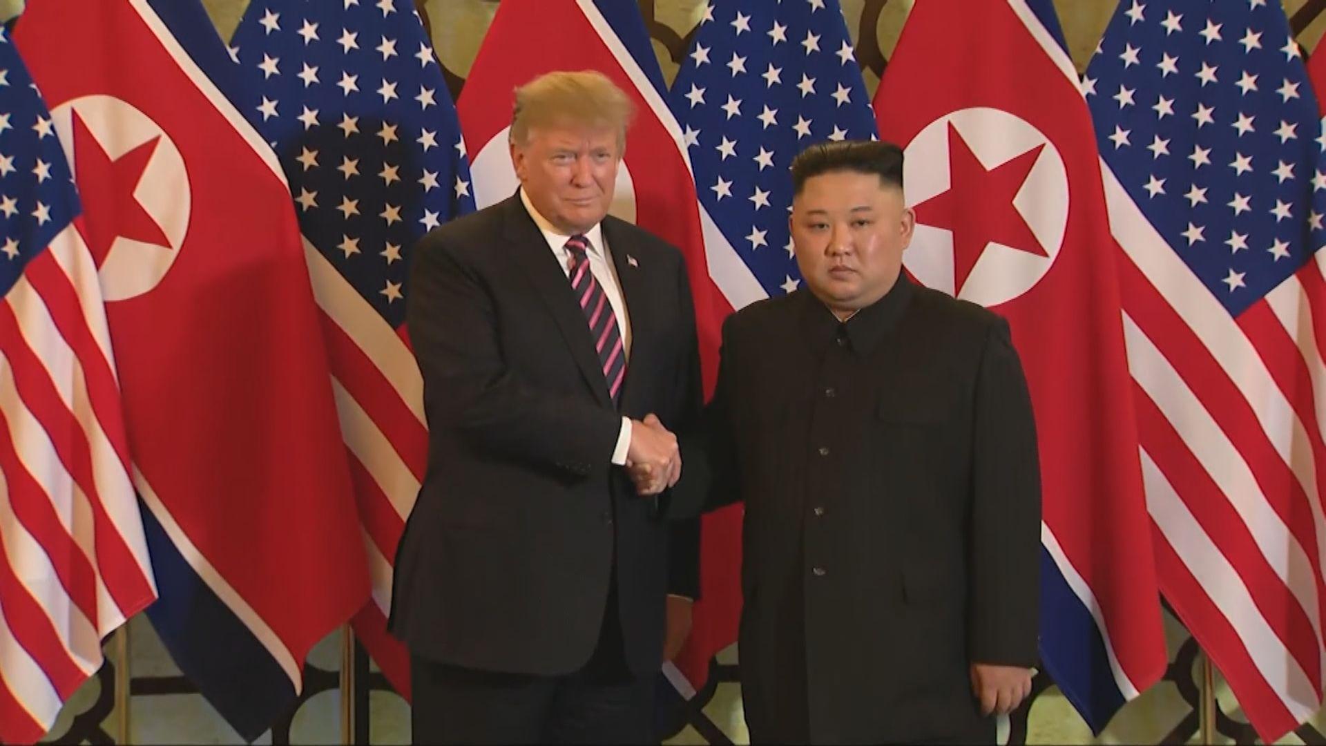 特朗普:相信金正恩不會出手摧毀北韓經濟