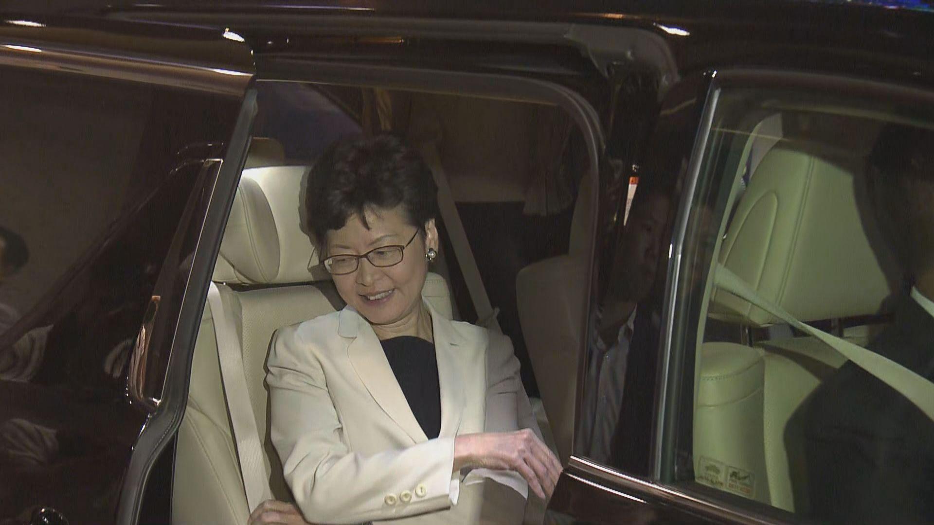 林鄭未有回應中央計劃任命臨時特首報道