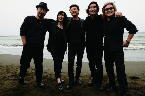 日本國民樂團-南方之星。圖╱環球唱片提供