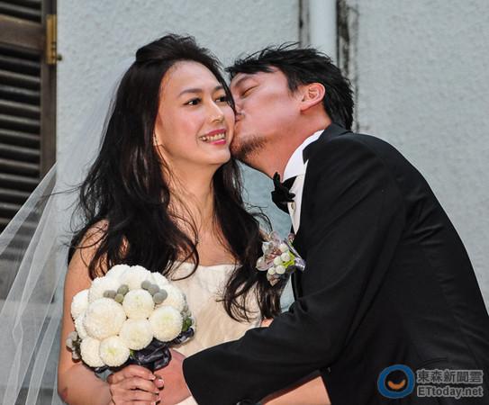 20131118張震婚禮 (圖/記者陳明仁攝)
