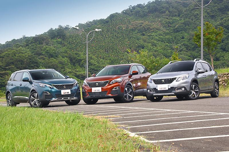 目前包括2008 SUV、3008 SUV以及5008 SUV皆已全數到齊,提供愛家獅迷更全面的選項。