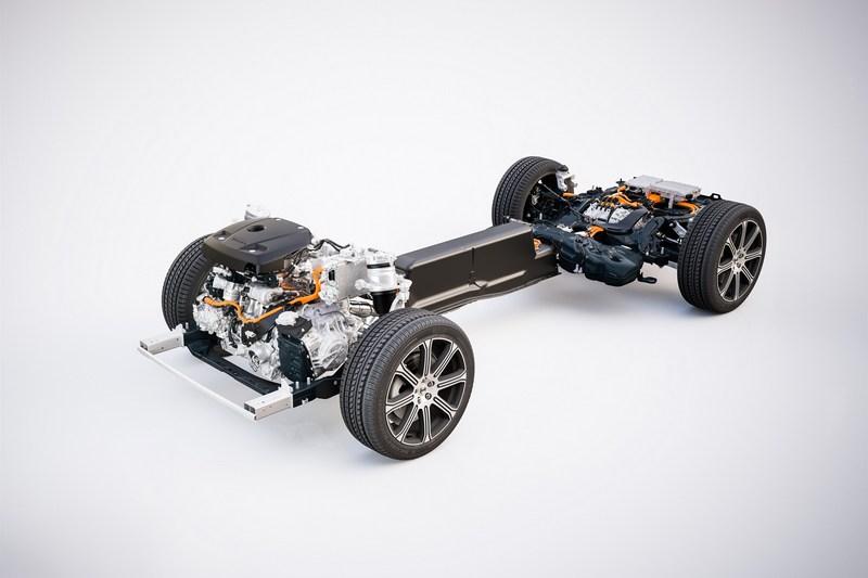 Volvo將T8系統電池容量加大至11.6kWh。
