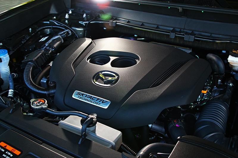 最主要的就是CX-5也增加2.5升渦輪引擎動力車型。