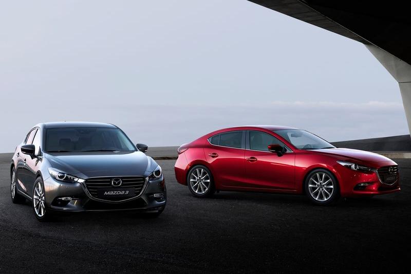 已步入世代末期的Mazda 3,面對Auris的洶洶來勢將以不變應萬變。