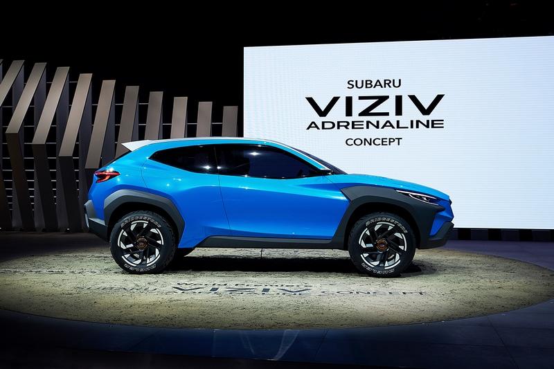 Viziv Adrenaline Concept採用全新Bolder設計語彙。