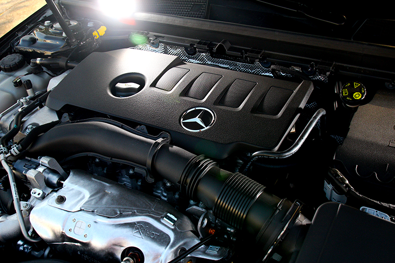 A250動力為2.0升渦輪引擎,有著224hp/35.7kgm最大輸出。