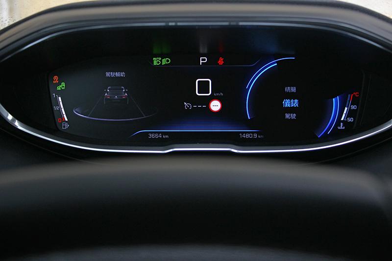 電子數位儀錶可自由選擇呈現風格,滿足求新求變的車主性格。