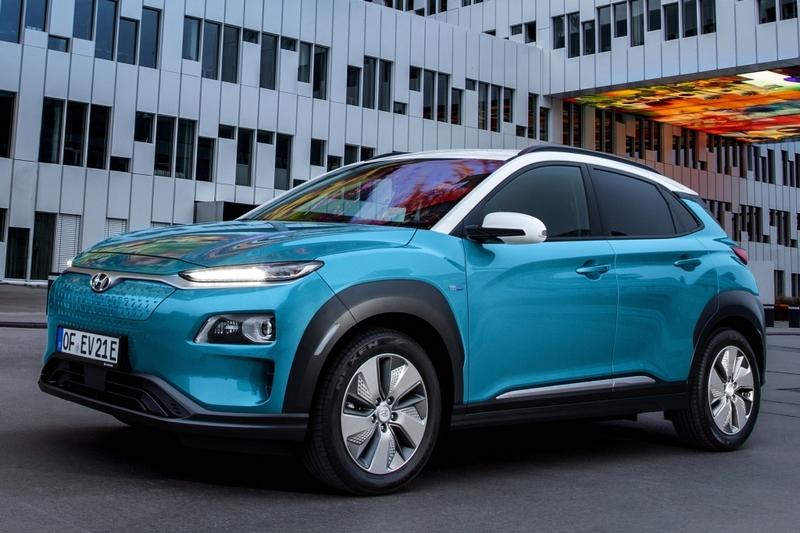 Kona於五月會推出前驅版外,年中之後還會導入擁有413公里行駛里程的純電車型。