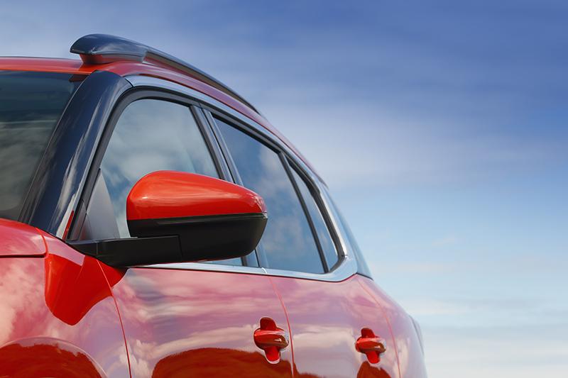 看似平鋪直敘的車側,換個角度看自成風景。