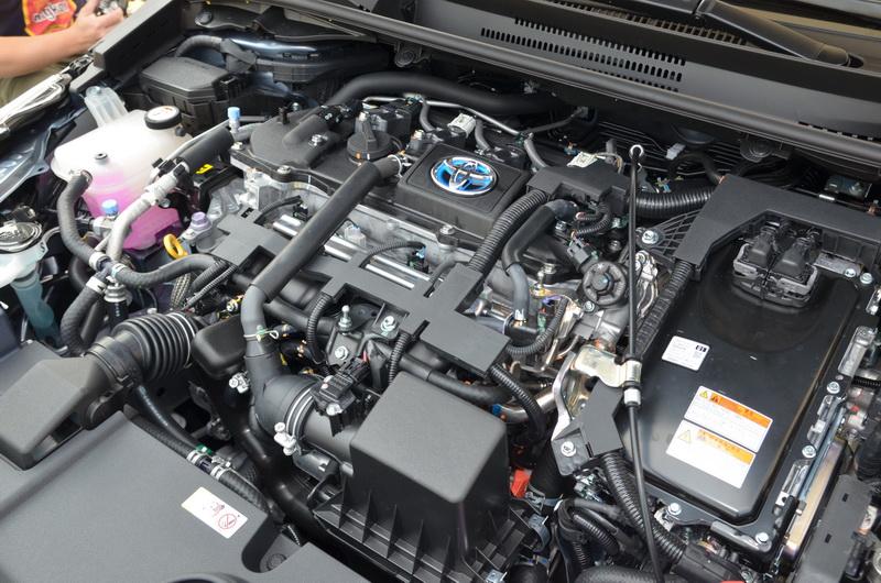 這次大改款Altis在國產中型房車級距中首次導入Hybrid油電混合系統