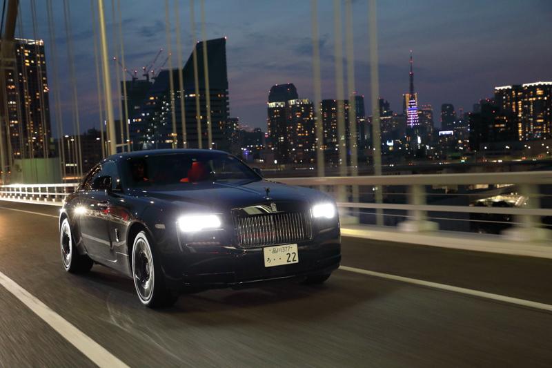 兩天一夜的試駕行,從東京首都高到箱根山路,Rolls-Royce Black Badge家族成員毫不保留的散發魅力。